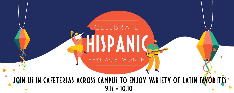 Hispanic Heritage Month Web Banner